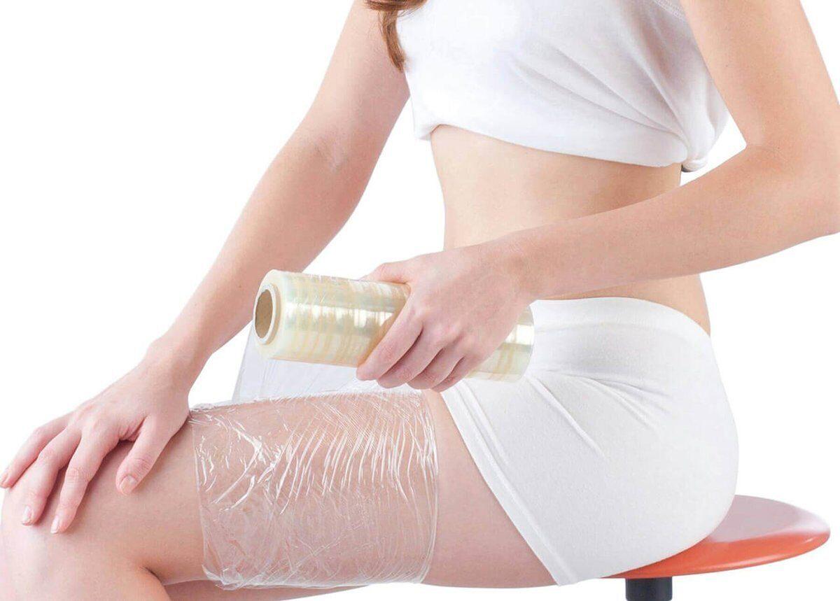 что мазать под пищевую пленку для похудения